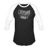 T-Shirts ~ Men's Baseball T-Shirt ~ Quensquat (Economy)