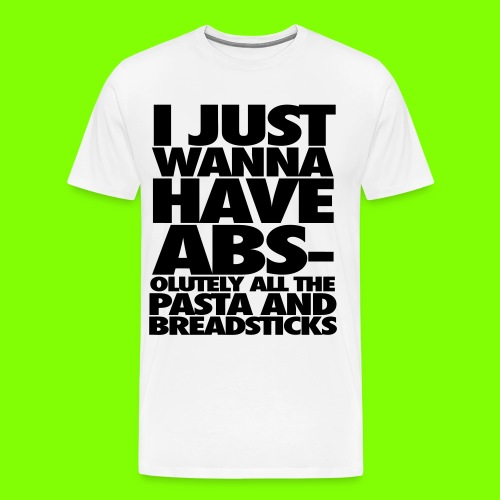 Abs T-Shirt - Men's Premium T-Shirt