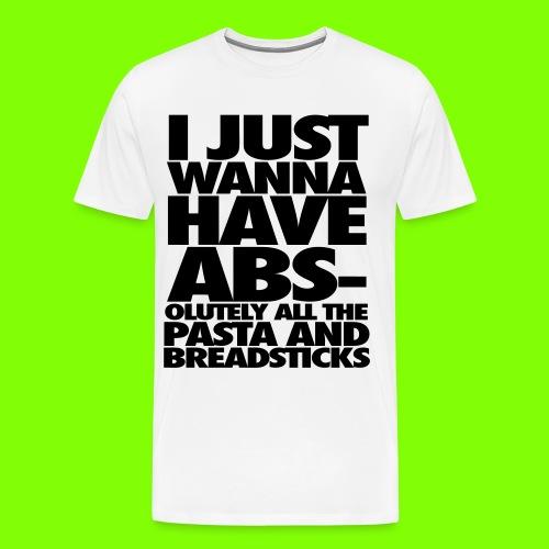 Abs T-Shirt - Men's Premium T-Shirt