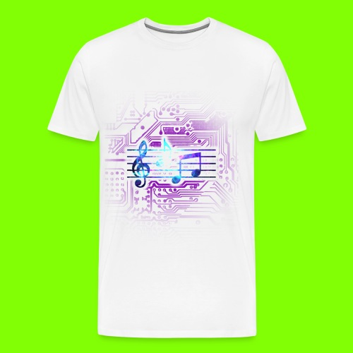 Music T-Shirt - Men's Premium T-Shirt