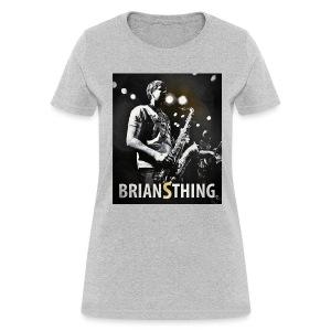BriansThing Women's T-Shirt - Heather Gray - Women's T-Shirt