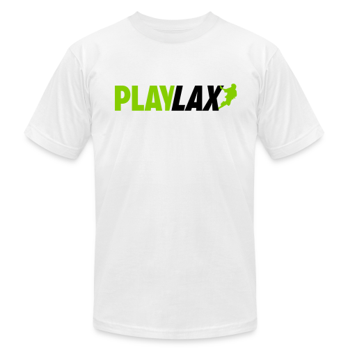 Play Lax Tee - Men's T-Shirt by American Apparel