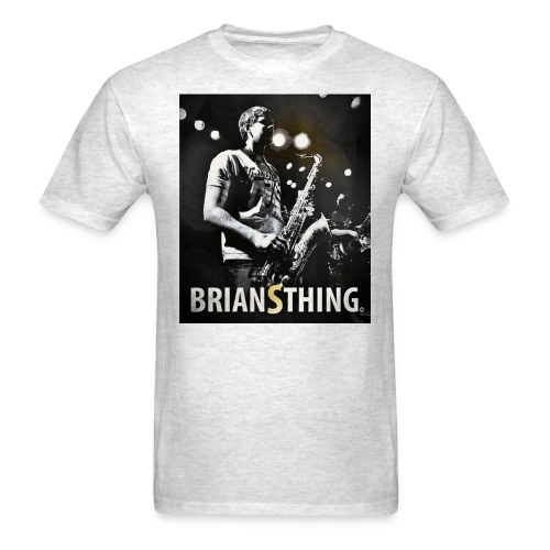 BriansThing Men's T-Shirt - Oxford Gray - Men's T-Shirt