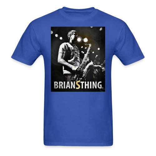 BriansThing Men's T-Shirt - Royal Blue - Men's T-Shirt