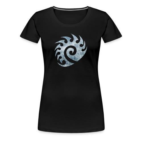 Frozen Zerg T-Shirt (Women's) - Women's Premium T-Shirt