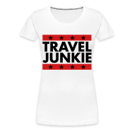 T-Shirts ~ Women's Premium T-Shirt ~ Travel Junkie