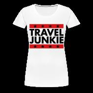 T-Shirts ~ Women's Premium T-Shirt ~ Travel Junkie