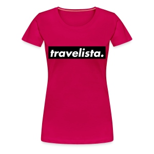 travelista. - Women's Premium T-Shirt
