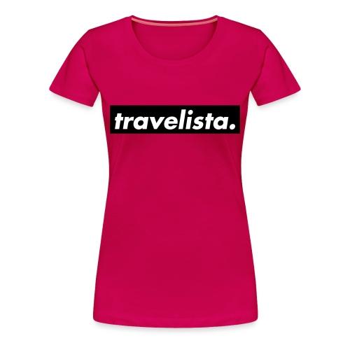 travelista. - Women's Premium T-Shirt