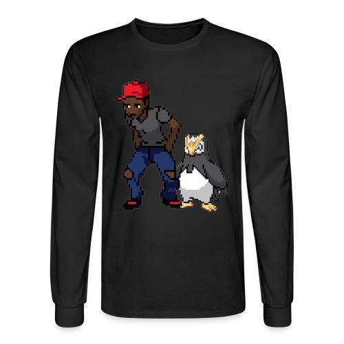 Digi-Bawse - Men's Long Sleeve T-Shirt