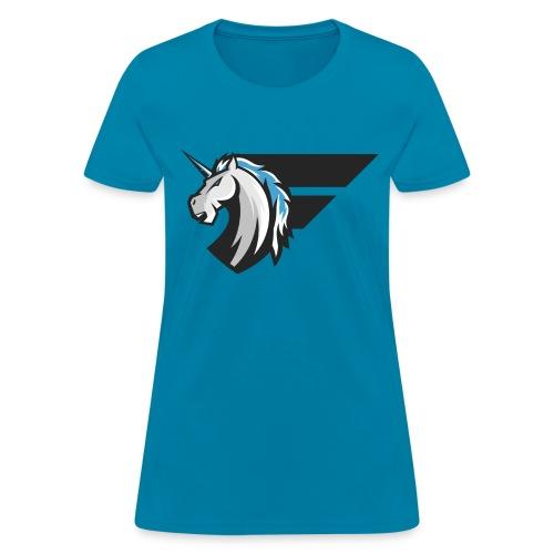 Fantastical Vicious Unicorn Tee Women - Women's T-Shirt