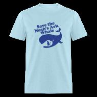 T-Shirts ~ Men's T-Shirt ~ Save the Whale Shirt