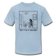 T-Shirts ~ Men's T-Shirt by American Apparel ~ Other People (men's)