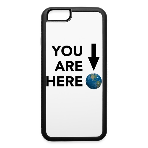 YOU ARE HERE - iPhone 6/6s Rubber Case