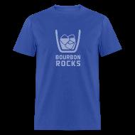 T-Shirts ~ Men's T-Shirt ~ Bourbon Rocks - Mens
