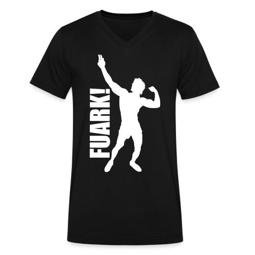 V-Neck T-Shirt Zyzz FUARK - Men's V-Neck T-Shirt by Canvas