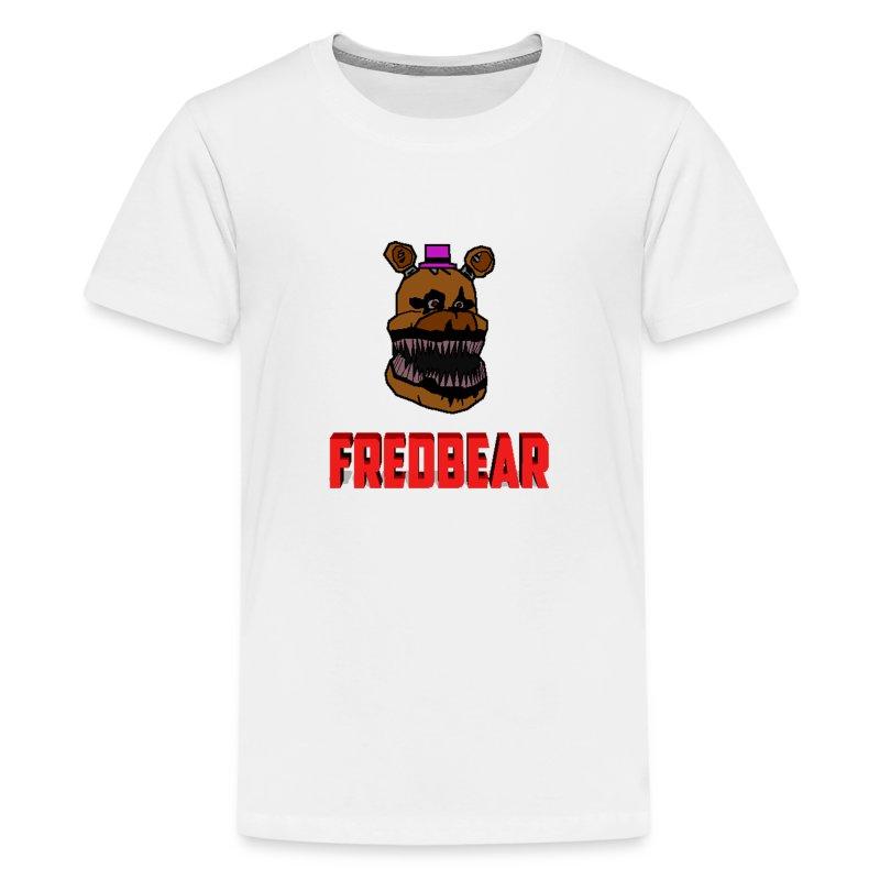 FNAF 4 Cartoon Fredbear T Shirt Spreadshirt