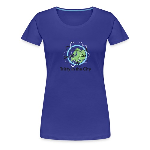 Tritty In The City Logo Shirt Women's - Women's Premium T-Shirt