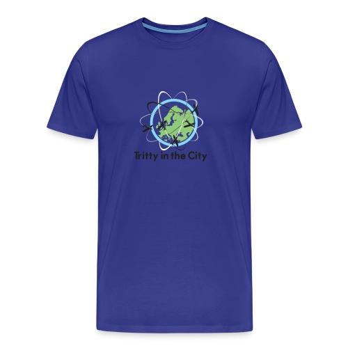 Tritty In The City Logo Shirt Mens - Men's Premium T-Shirt