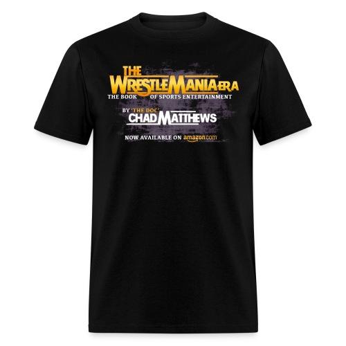Wrestlemania Era Book Official Tee - Men's T-Shirt
