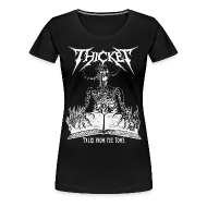 T-Shirts ~ Women's Premium T-Shirt ~ Tales from the Tomb Womens