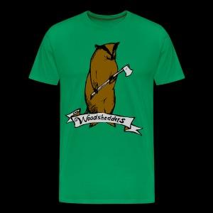 The Woodshedders' Classic Badger Men's T-Shirt - Men's Premium T-Shirt