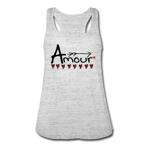 Amour Women's Flowy Tank Top by Bella - Women's Flowy Tank Top by Bella