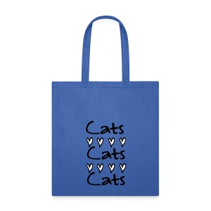 cats cats Tote Bag - Tote Bag