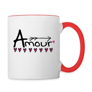 Amour Contrast Coffee Mug - Contrast Coffee Mug