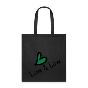 LOVE & LOVE Tote Bag - Tote Bag