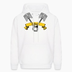 Detroit Piston Motor Parts Hoodies
