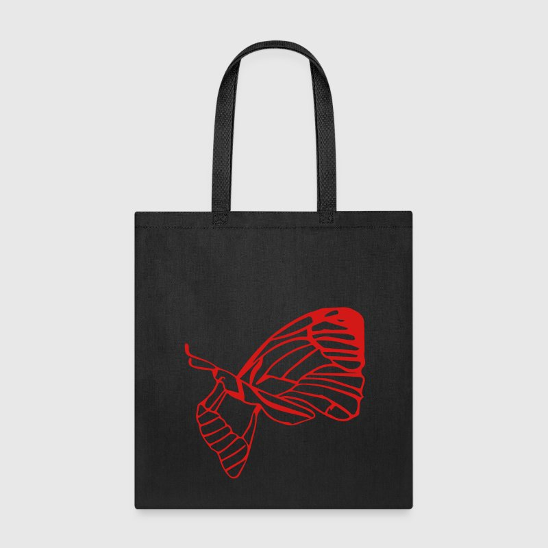 Butterfly w/ Cocoon Bags & backpacks - Tote Bag