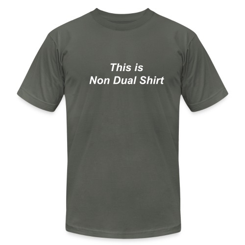 Male Tee Non Dual - Men's  Jersey T-Shirt