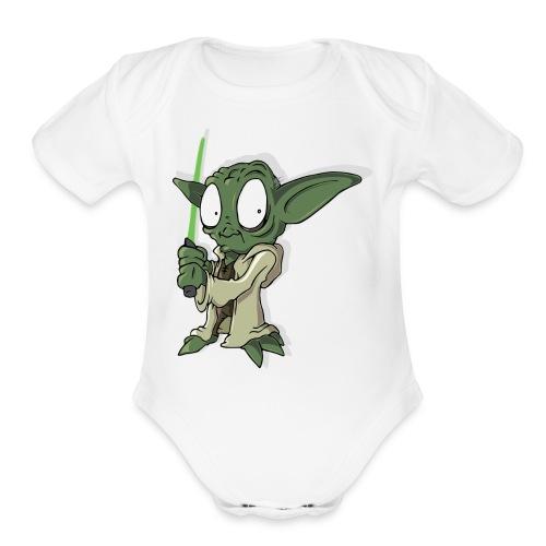 Yoda baby - Organic Short Sleeve Baby Bodysuit
