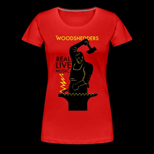 The Woodshedders Forge - Women's Premium T-Shirt