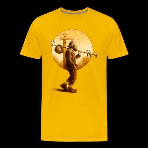 The Woodshedders' Hobo Men's T-Shirt - Men's Premium T-Shirt