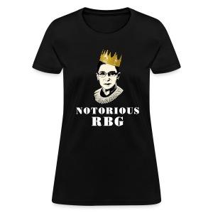 Notorious RBG - Women's T-Shirt