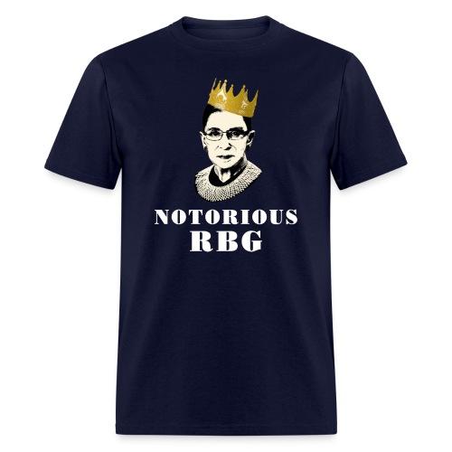 Notorious RBG Men's T-shirt - Men's T-Shirt