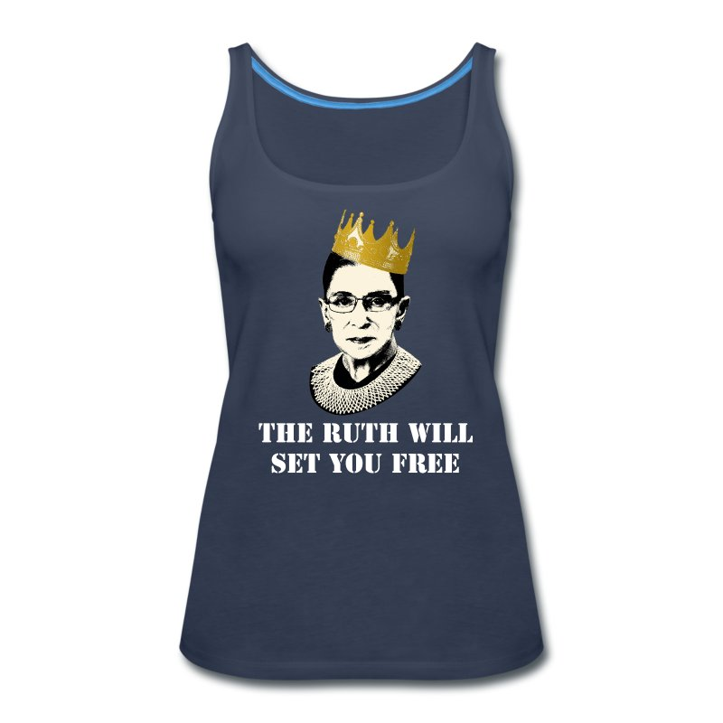 The Ruth Will Set You Free - Women's Premium Tank Top