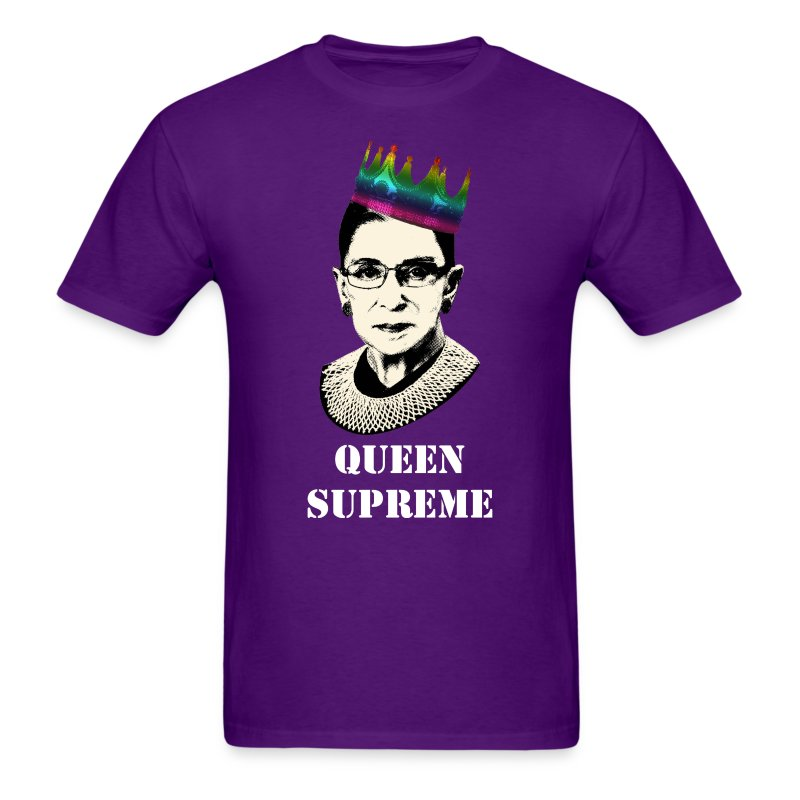 Notorious RBG Pride Shirt - Men's T-Shirt