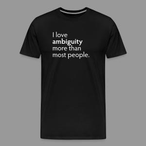 Ambiguity - Men's Premium T-Shirt