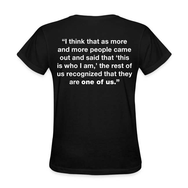 Notorious RBG Pride Women's Shirt