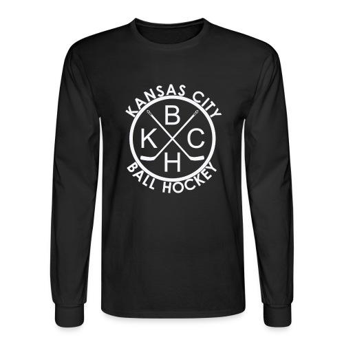 Kansas City Ball Hockey - Men's Long Sleeve T-Shirt