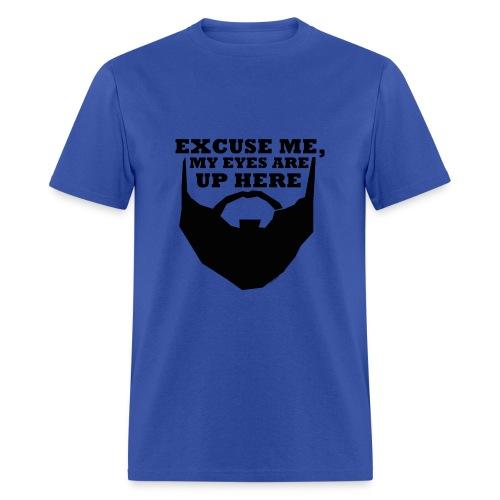 Excuse Me Beard - Basic Tee - Men's T-Shirt