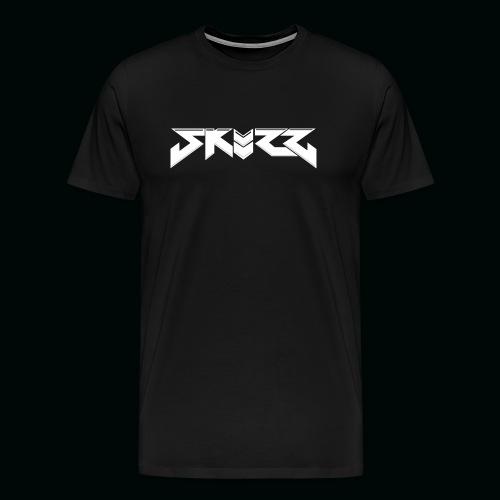 Black Skuzz Premium Mens shirt - Men's Premium T-Shirt