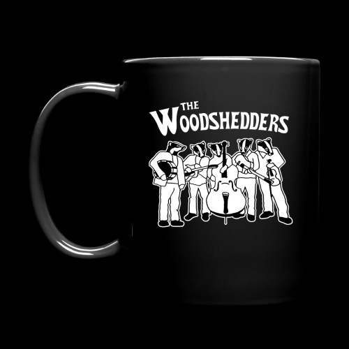 The Woodshedders Badger Band Mug - Full Color Mug