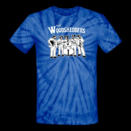 The Woodshedders Badger Band Tie-Dye - Unisex Tie Dye T-Shirt