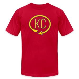 KC Landmark Shirt - Men's Fine Jersey T-Shirt