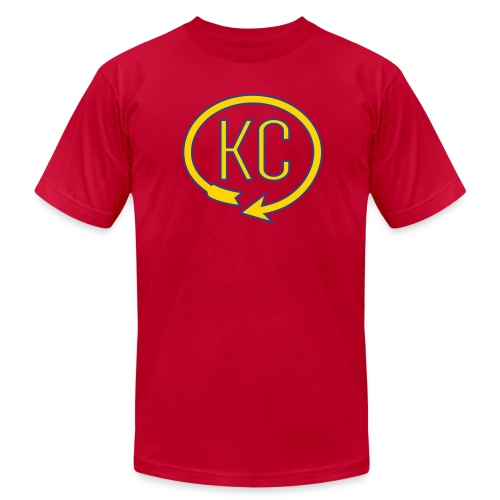 KC Landmark Shirt - Men's Fine Jersey T-Shirt