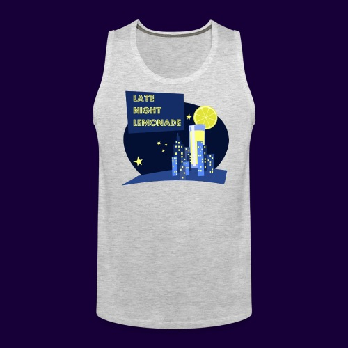 Late Night Lemonade Logo - Men's Premium Tank